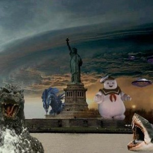 Funny apocalyptic Storm Sandy