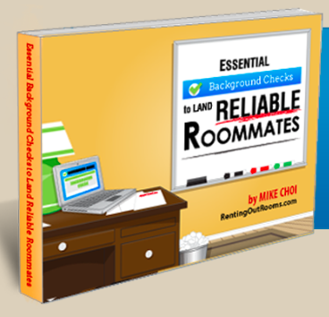 Renting out rooms Back ground search guide book