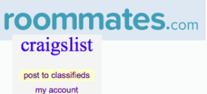 The number of roommates I found from online