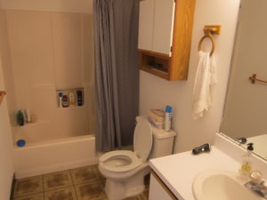Full Bath renting out rooms